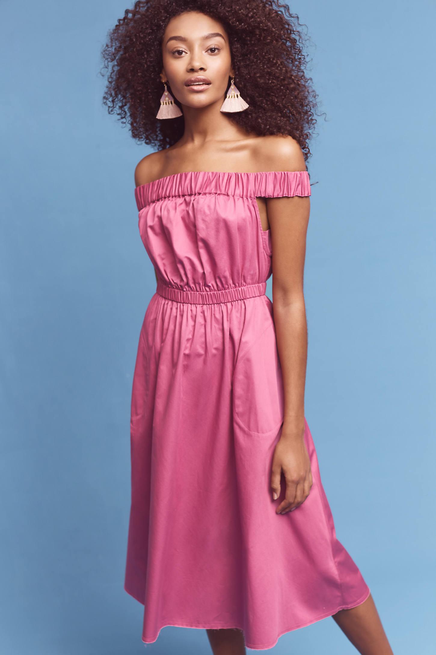 Mona Off-The-Shoulder Dress
