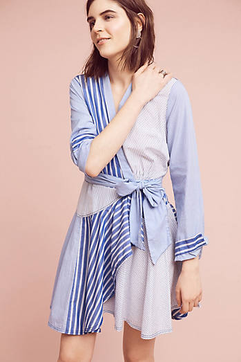 Newport Stripe Shirtdress