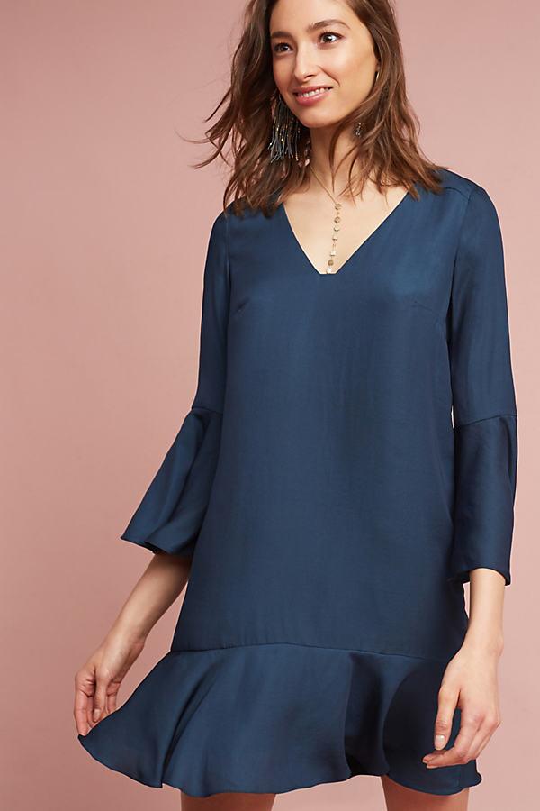 Myrtle Swing Dress, Blue - Turquoise, Size Xs