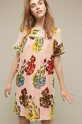 Flower Market Swing Dress