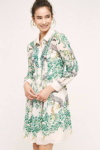 Ria Dropwaist Shirtdress