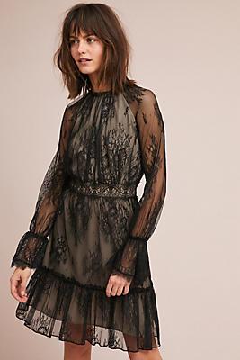 Slide View: 1: Shoshanna Lace Dress