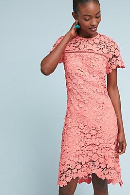 Slide View: 1: Shoshanna Laced Dahlia Dress