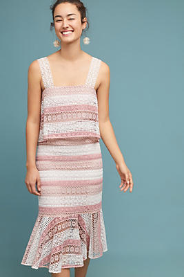 Slide View: 1: Shoshanna Kiaora Lace Dress