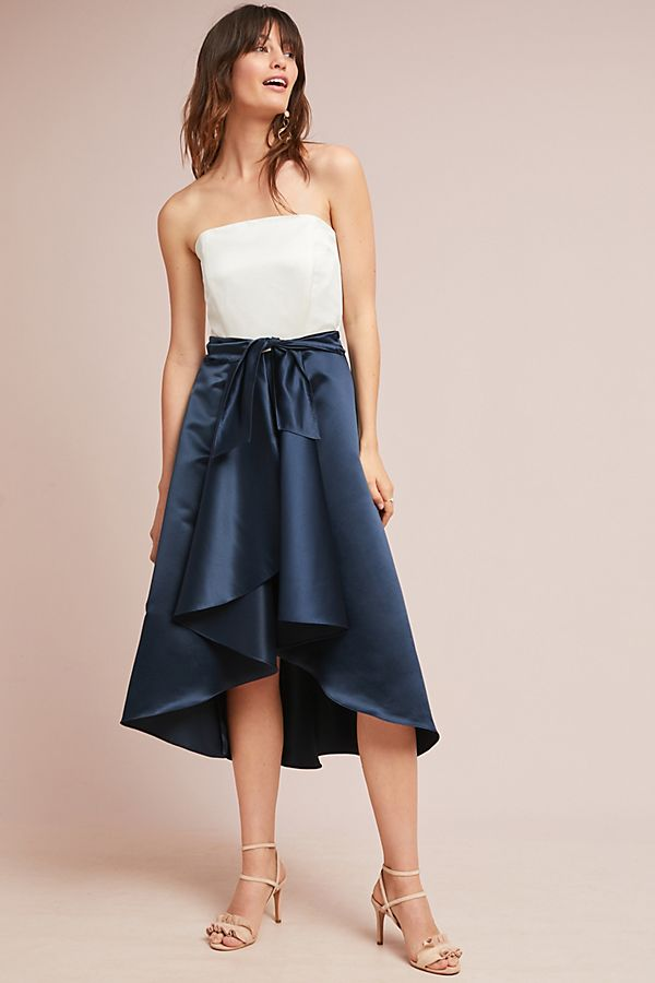 Shoshanna Bow Ball Gown | Anthropologie