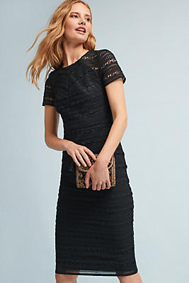 Slide View: 1: Aleona Lace Column Dress