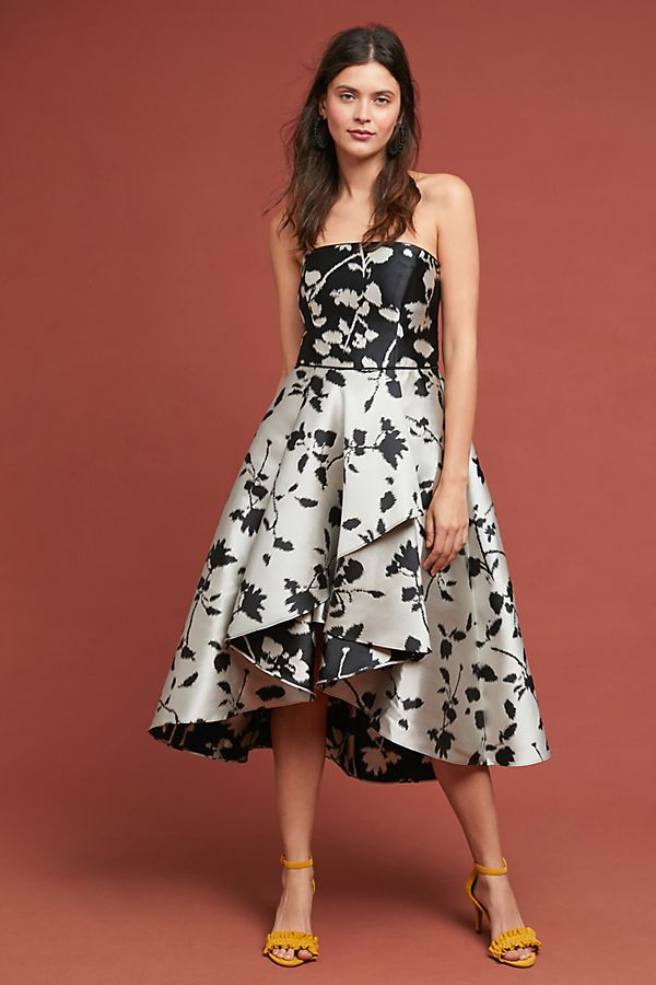 Shoshanna Floral Ball Gown | Anthropologie