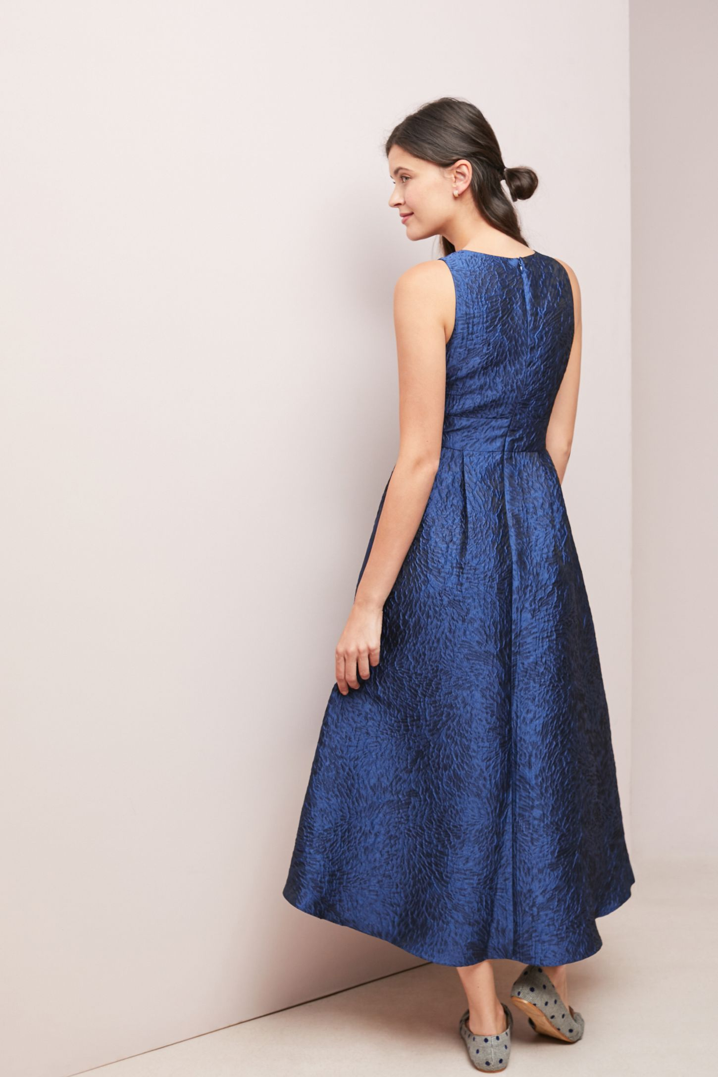Shoshanna Textured Ball Gown | Anthropologie
