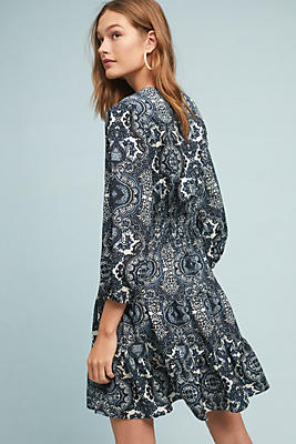 Slide View: 1: Shoshanna Emery Printed Dress