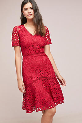 Slide View: 1: Shoshanna Lepage Lace Dress
