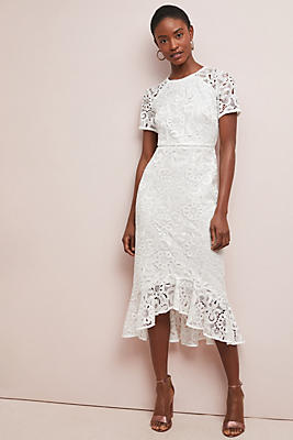 Slide View: 1: Shoshanna Edgecombe Lace Dress