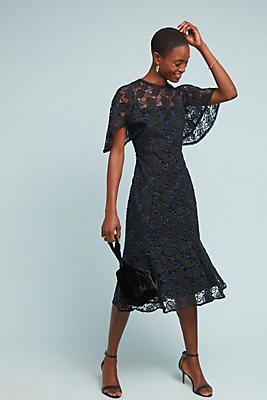 Slide View: 1: Shoshanna Harmonia Lace Dress