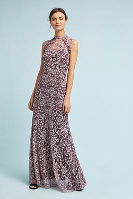 Slide View: 2: Shoshanna Lace Maxi Dress