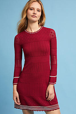 Slide View: 1: Roma Bell-Sleeve Dress