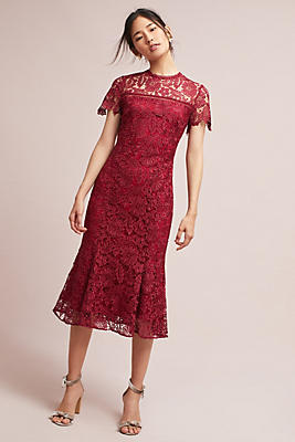Slide View: 1: Rowena Lace Dress