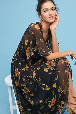 Slide View: 1: Shoshanna Jenna Floral Dress