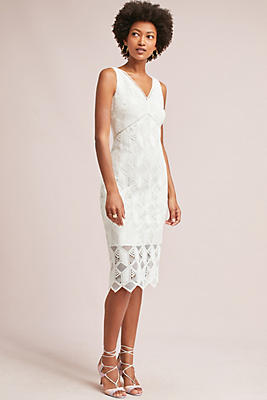 Slide View: 1: Eleora Lace Column Dress