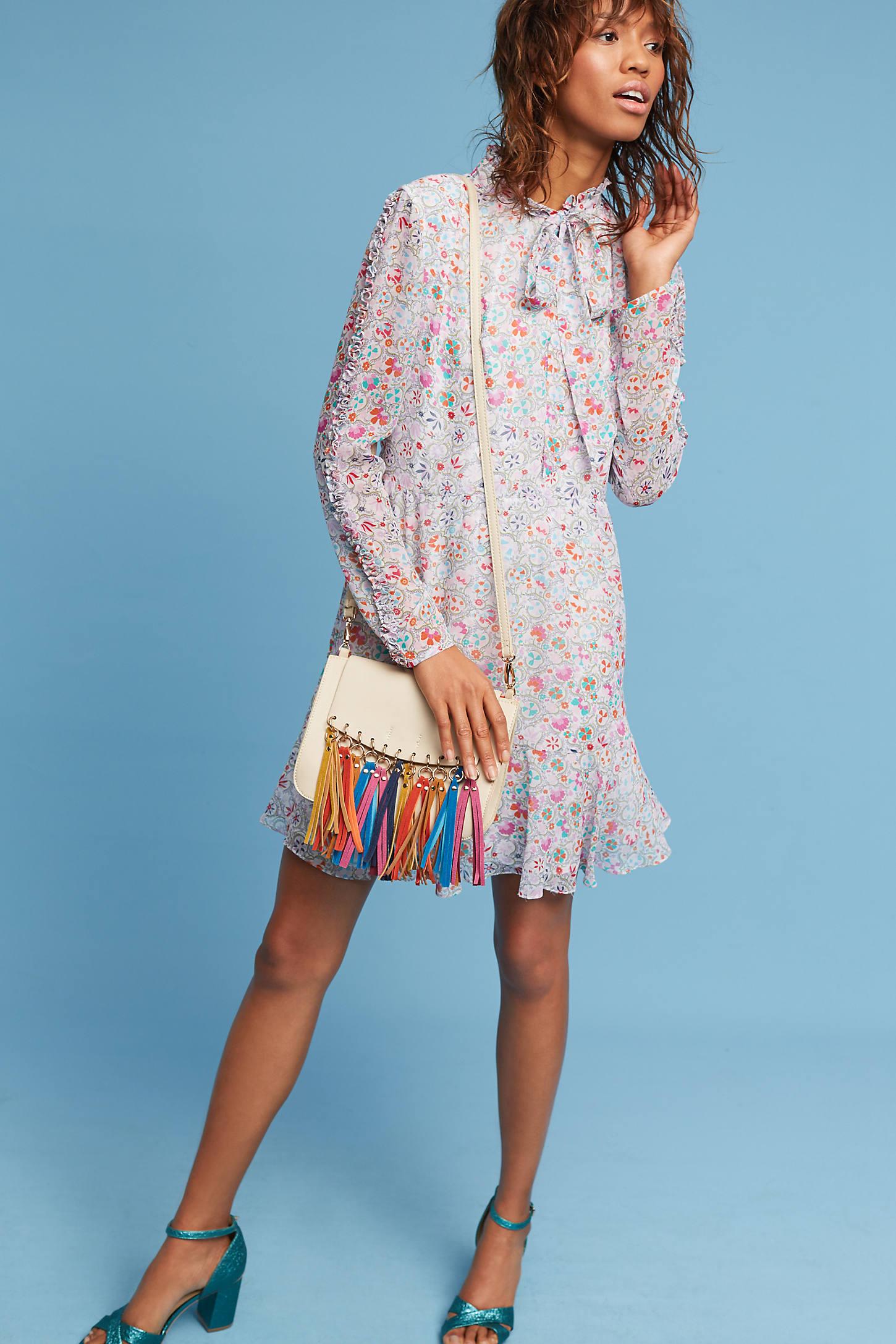 Sienne Silk Dress