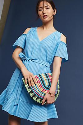 Slide View: 1: Francesca Open-Shoulder Dress