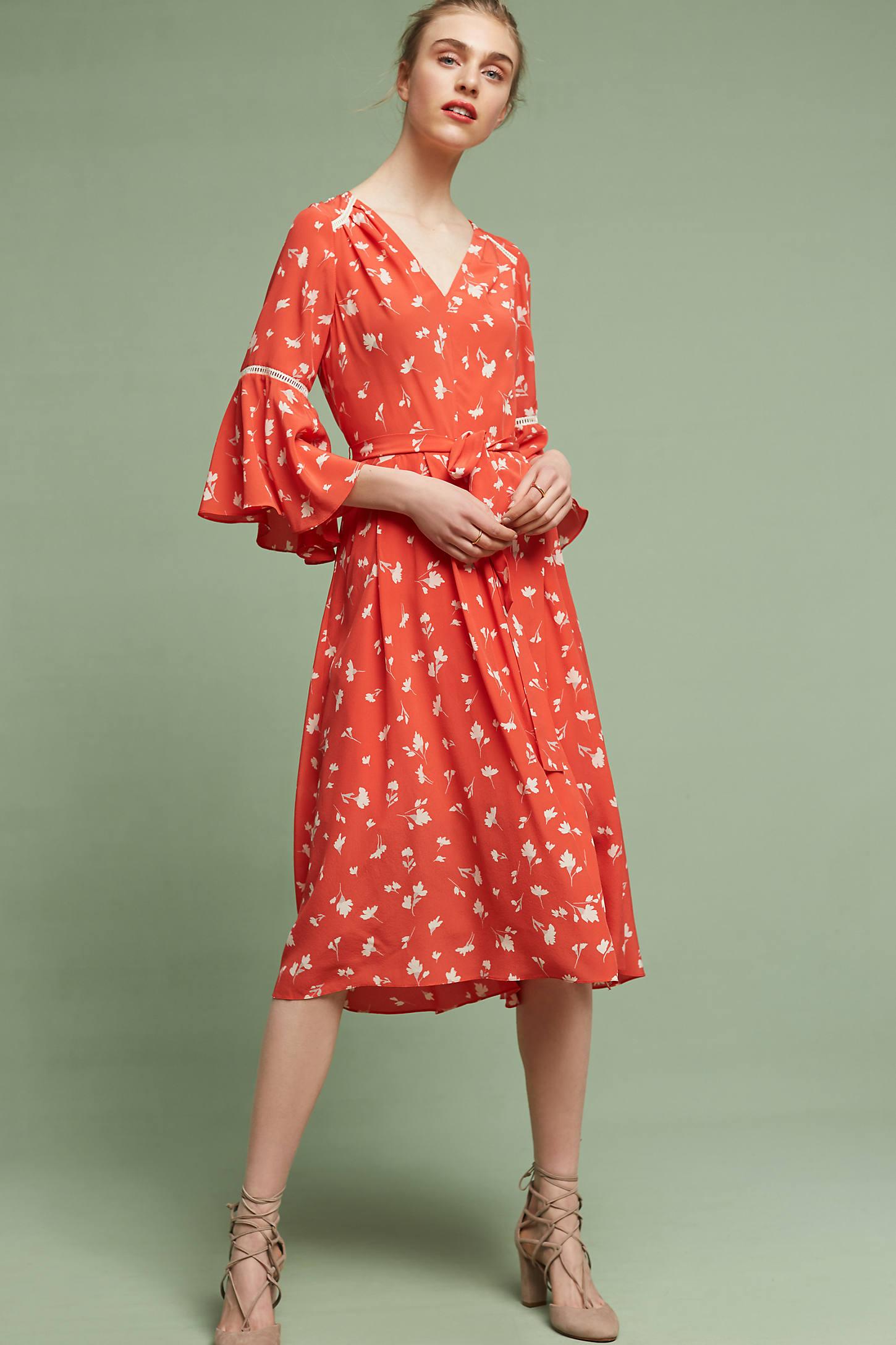 Millie Silk Midi Dress