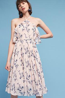 Slide View: 1: Aisha Halter Dress