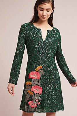 Slide View: 1: Calliope Sequined Dress