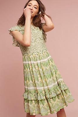 Slide View: 1: Lanai Beaded Dress