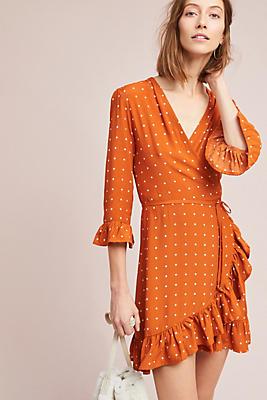 Slide View: 1: Faithfull Ginger Wrap Dress
