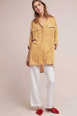 Slide View: 1: Faithfull Mini Shirtdress