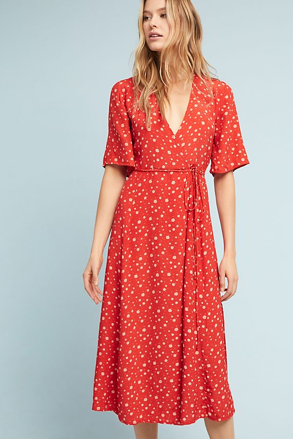 Slide View: 2: Faithfull Sarika Wrap Dress