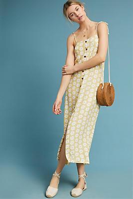 Slide View: 1: Faithfull Daisy Midi Dress