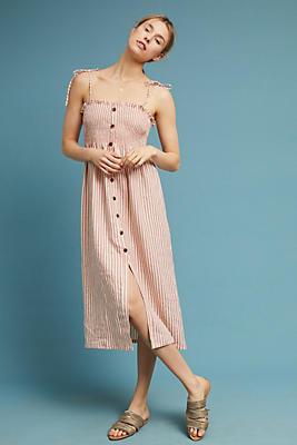 Slide View: 1: Faithfull Brighton Linen Dress