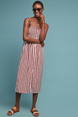 Slide View: 1: Faithfull Valencia Striped Dress