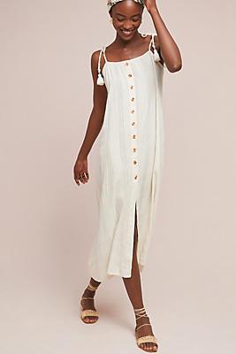 Slide View: 1: Faithfull Luna Midi Dress