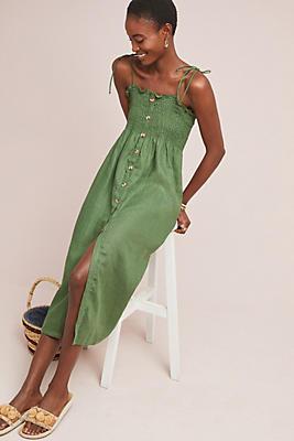 Slide View: 1: Faithfull Marissa Linen Dress