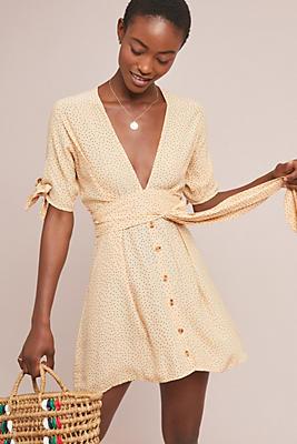 Slide View: 1: Faithfull Rosie Mini Dress