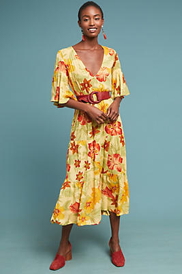 Slide View: 1: Faithfull Rios Floral Dress