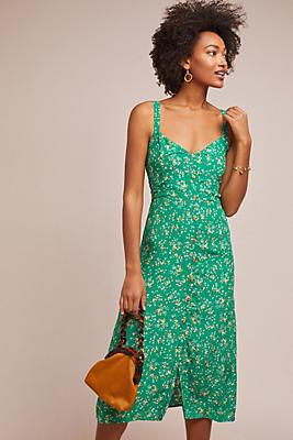 Slide View: 1: Faithfull Audrey Floral Dress