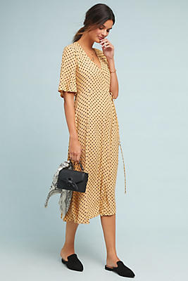 Slide View: 1: Faithfull Lula Wrap Dress