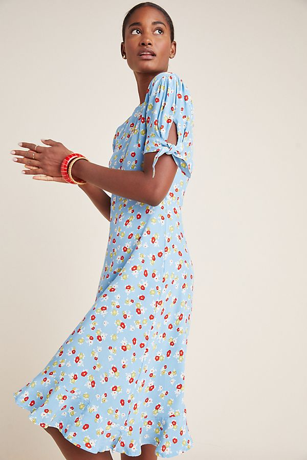 Slide View: 1: Faithfull Erin Midi Dress