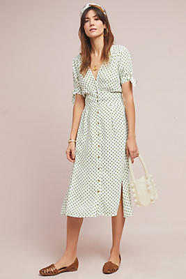 Slide View: 1: Faithfull Lula Midi Dress