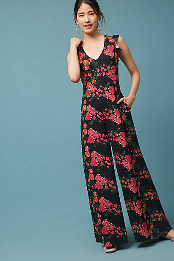 Laurette V-Neck Jumpsuit