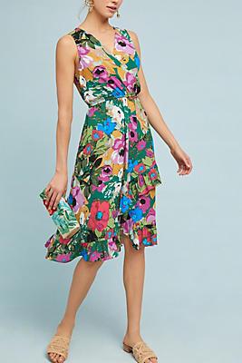 Slide View: 2: Daphne Wrap Dress