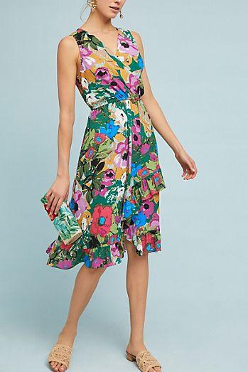Daphne Wrap Dress