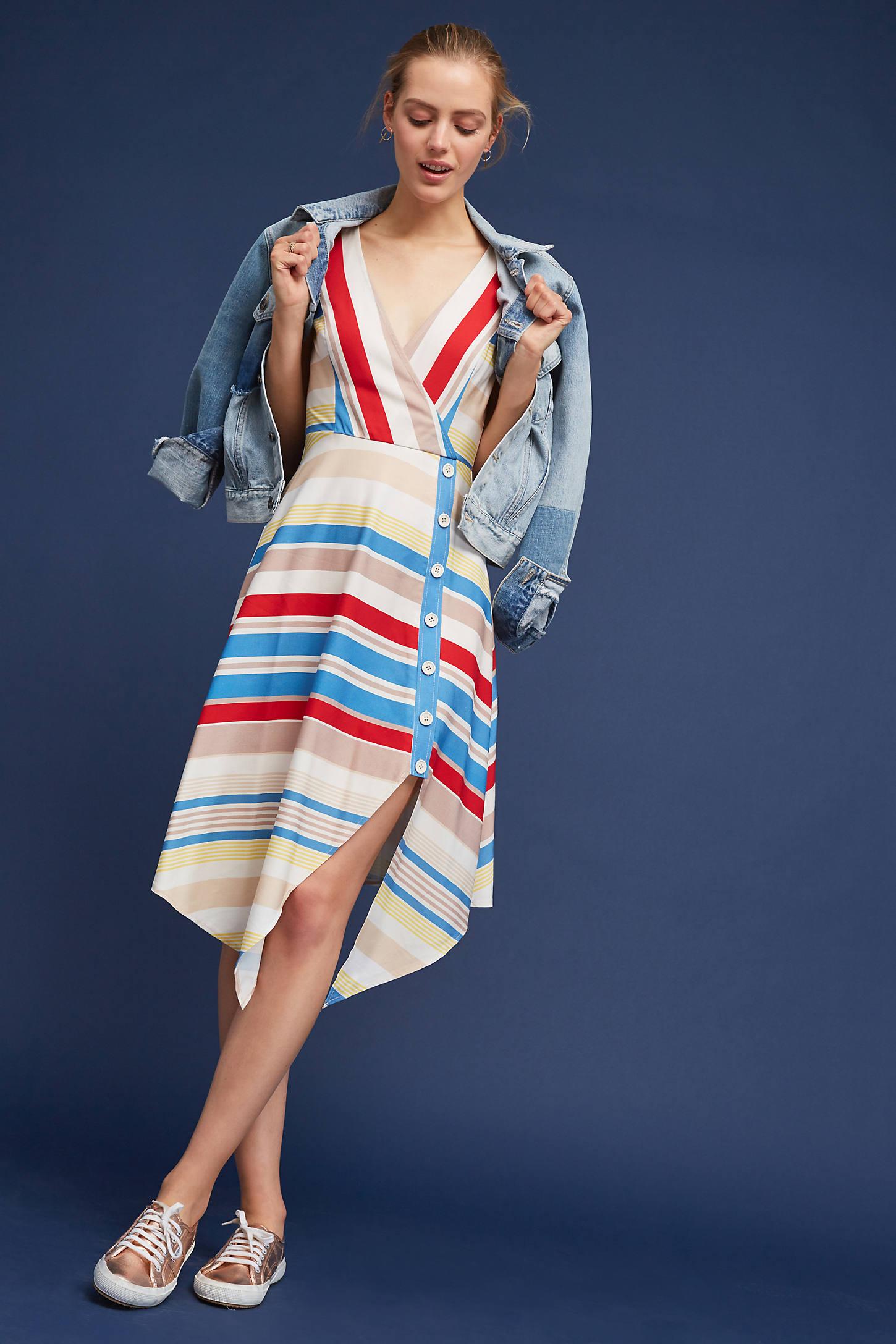 Naomi Striped Dress