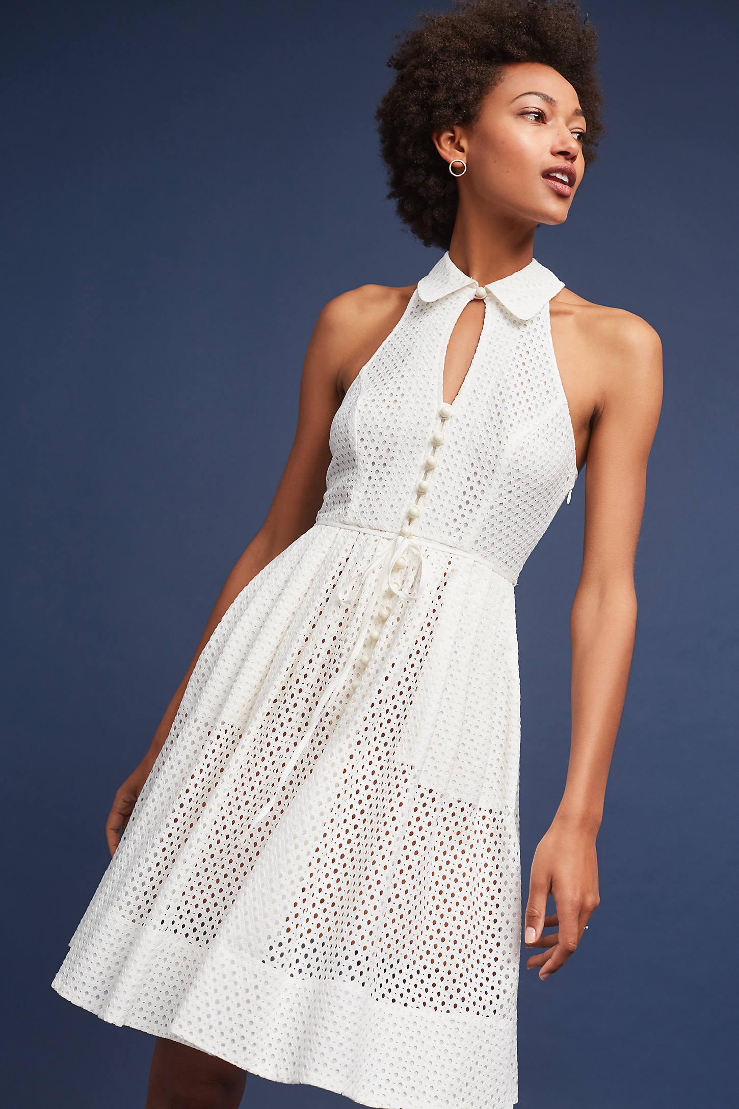 Joanna Eyelet Dress