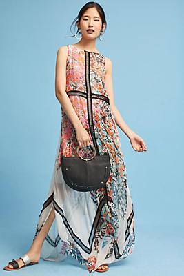 Slide View: 1: Tracy Reese City Garden Silk Maxi Dress