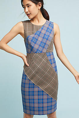 Slide View: 1: Tracy Reese Plaid Dress
