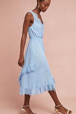 Slide View: 1: Carolina Eyelet Dress