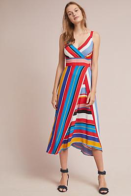 Seaside Striped Dress Anthropologie